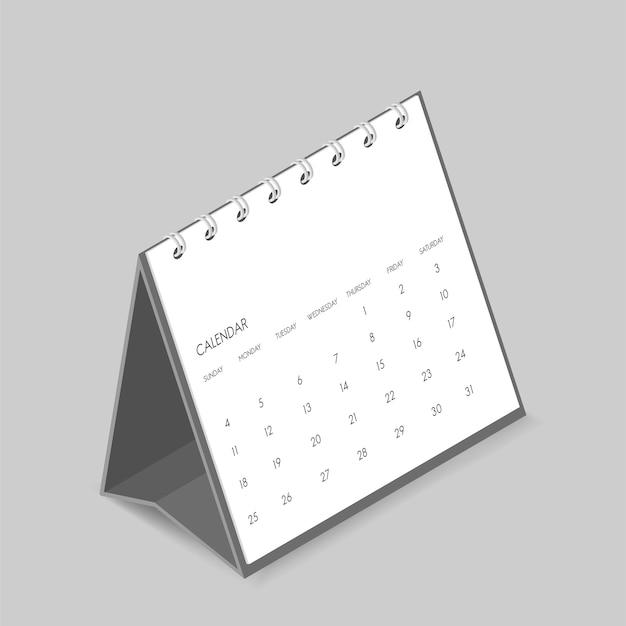 Calendário Vetor grátis