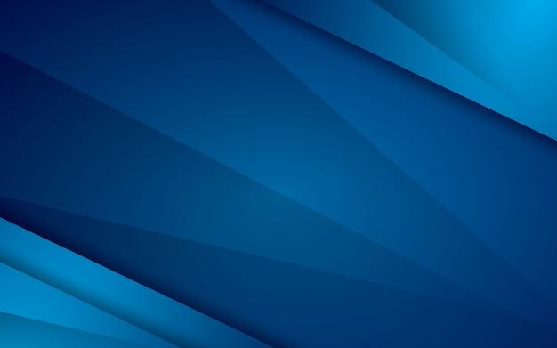 Camada de sobreposição de fundo abstrato moderno vetor azul Vetor Premium