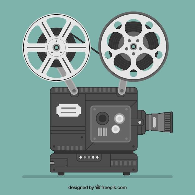 Câmera de vídeo Vetor grátis