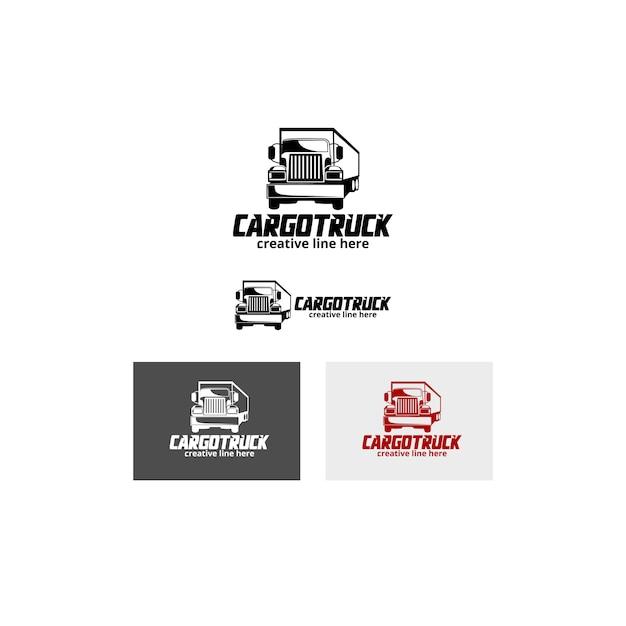 Caminhão de carga Vetor Premium