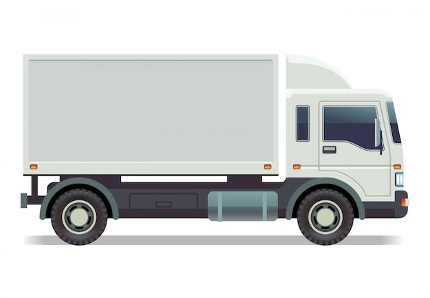 Caminhão pequeno Vetor Premium