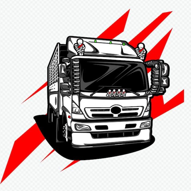 Caminhão Vetor Premium