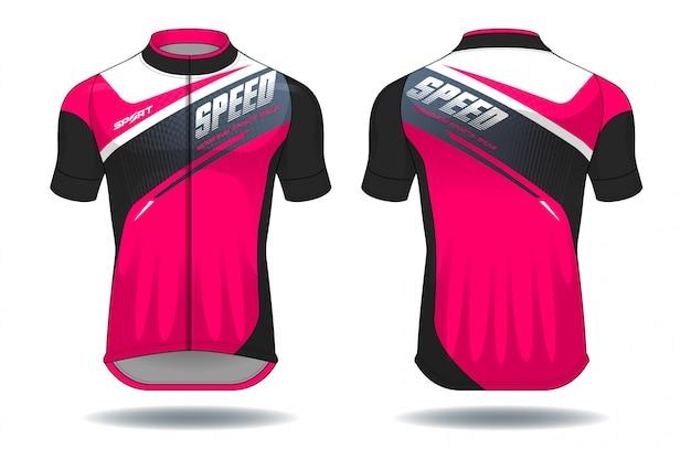 Camisa de ciclo Vetor Premium