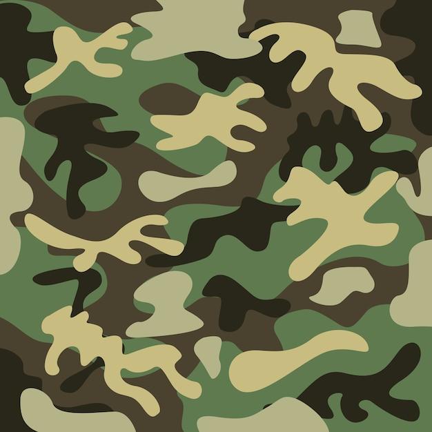 Camuflagem militar Vetor Premium