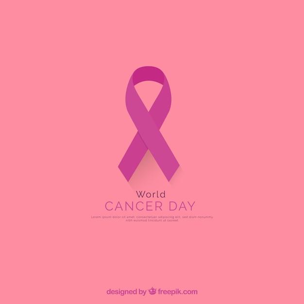 Câncer de mama Vetor grátis