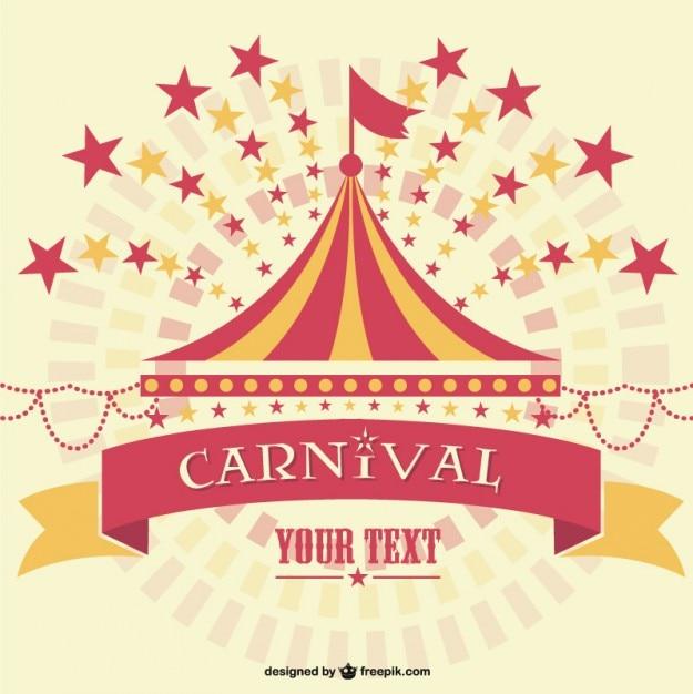 Carnaval gráfico vetorial Vetor grátis