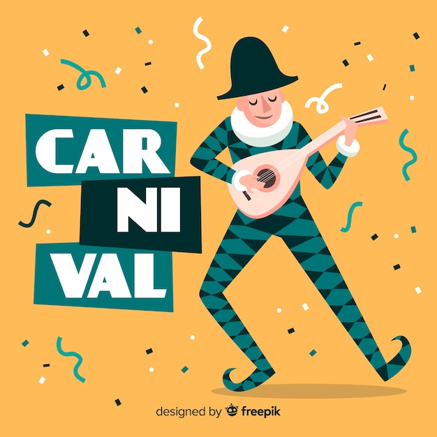 Carnaval Vetor grátis