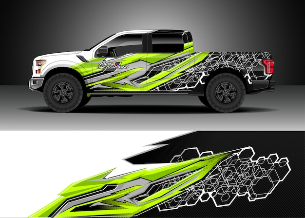 Carro de corrida para rally Vetor Premium