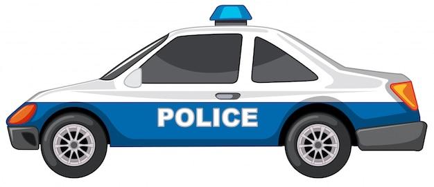 Carro de polícia Vetor grátis