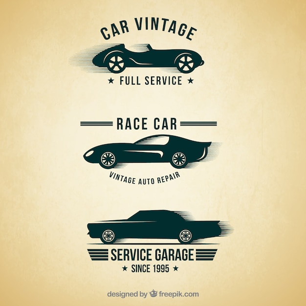 Carros antigos : Baixar vetores Premium