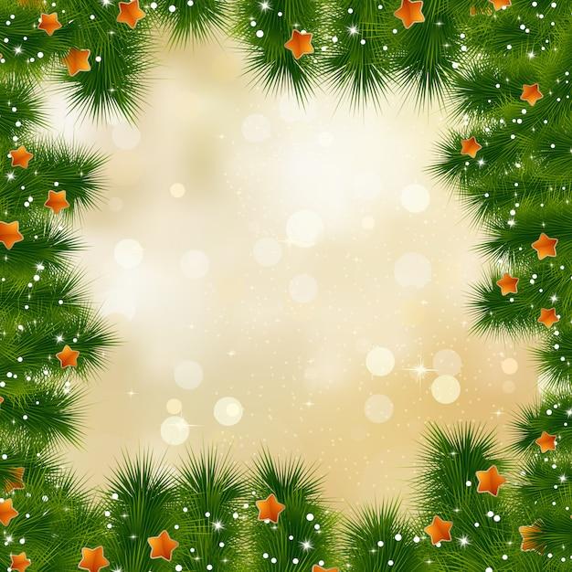 Cartão de ano novo e cristmas. Vetor Premium