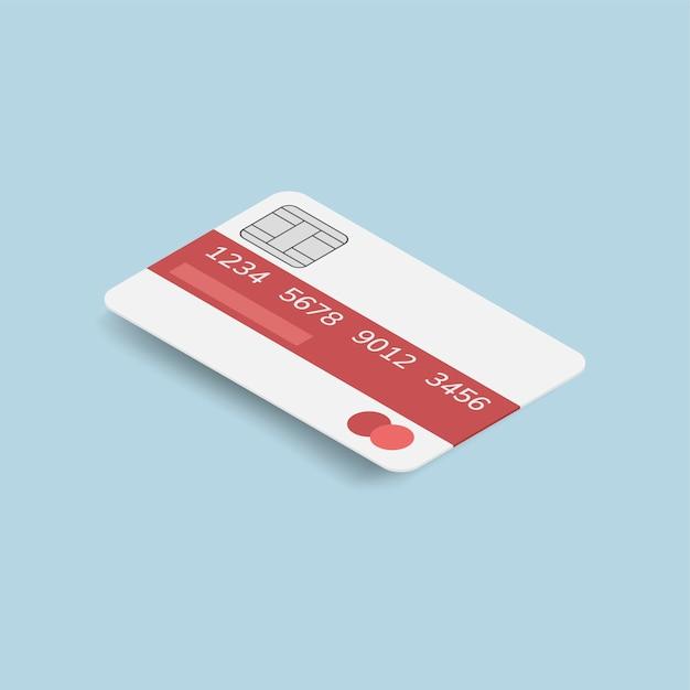 Cartão de crédito Vetor grátis