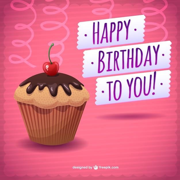 Cartão de feliz aniversário download gratuito bolo  7b8d296f176e2