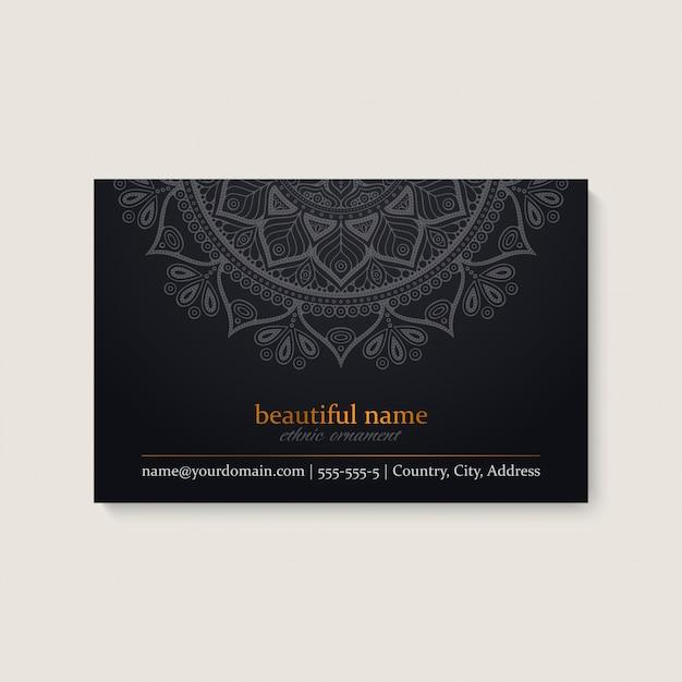Cartão de visitas Vetor grátis