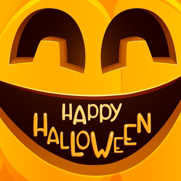Cartaz de festa de halloween Vetor Premium