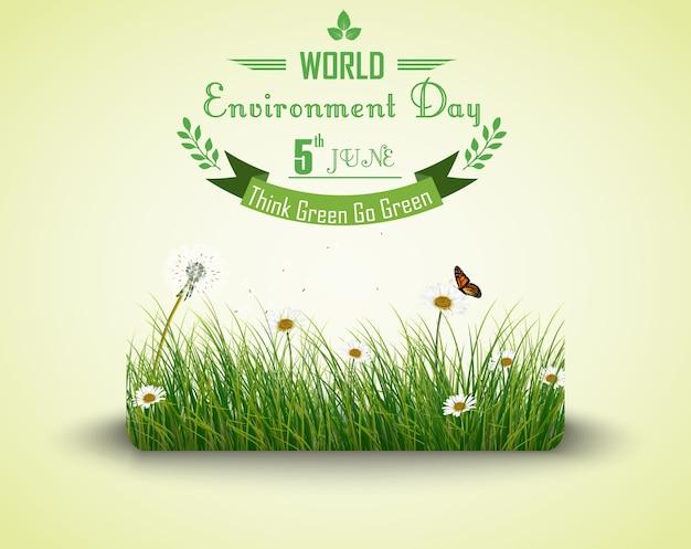 Cartaz do dia internacional da biodiversidade Vetor Premium