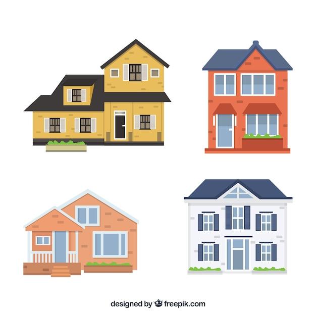 Casas fachadas decorativas com desenhos fant sticos for Disegni di case abbandonate