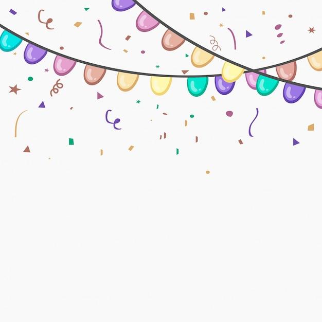 Celebração comemore colorido evento sazonal Vetor grátis