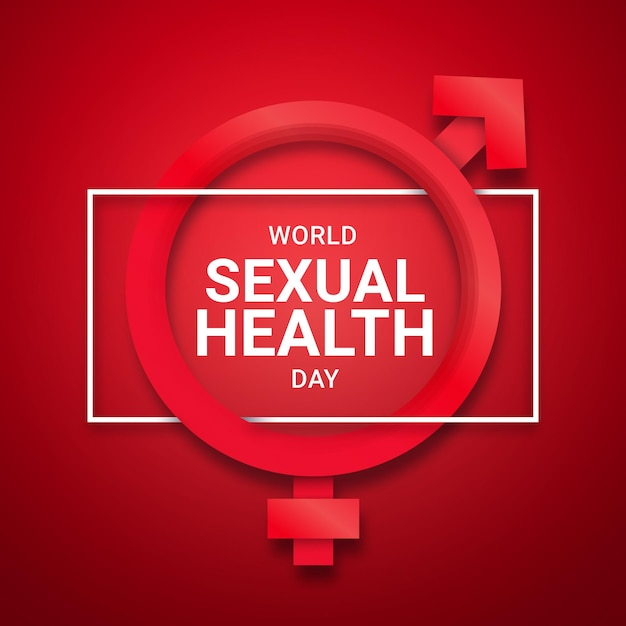 Celebração do dia mundial da saúde sexual Vetor grátis