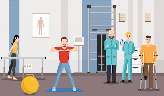 Centro de reabilitação Vetor Premium