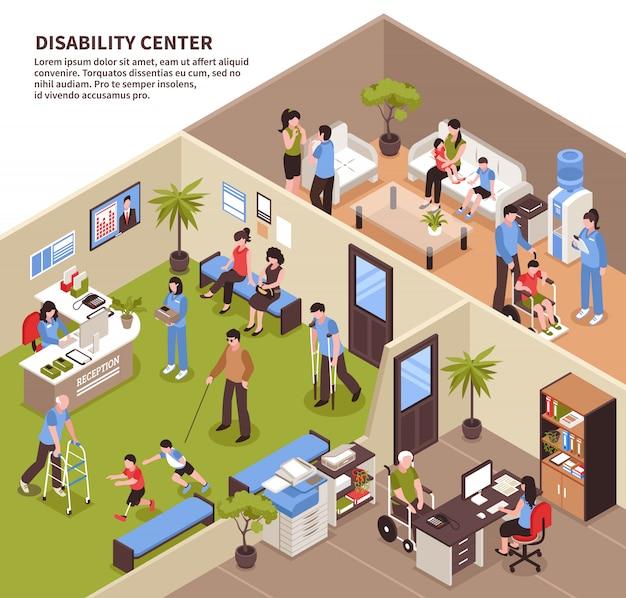 Centro de serviço social Vetor grátis