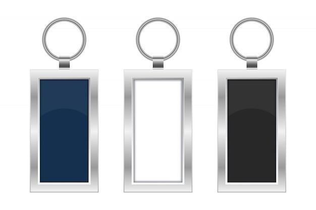 Chaveiro design ilustração isolado no fundo branco Vetor Premium
