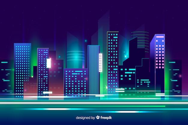 Cidade Vetor grátis