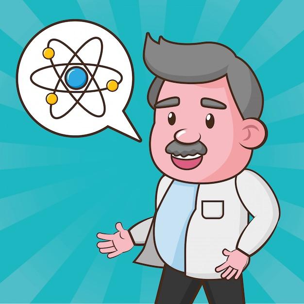 Ciência de laboratório científico Vetor grátis