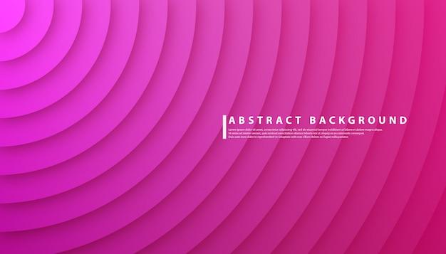 Círculo radial gradiente abstrato Vetor Premium