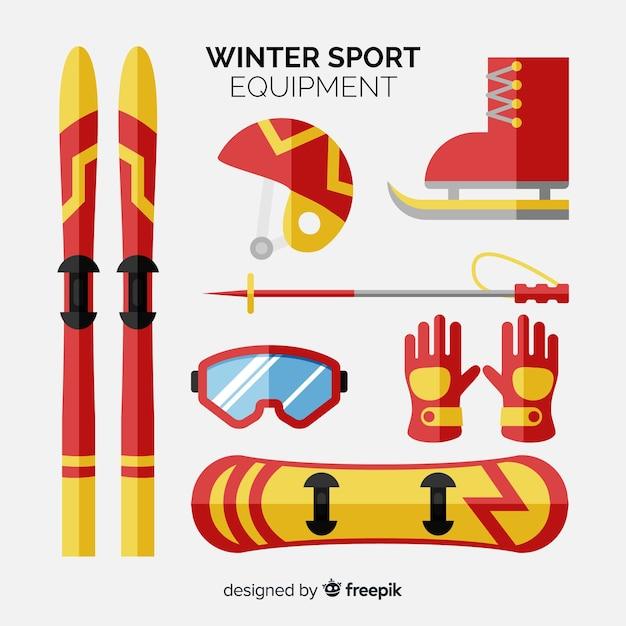 480332e5a Coleção de acessórios de esporte de inverno
