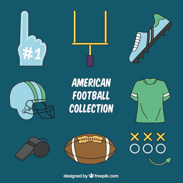 3c3896855 Coleção de artigos de futebol americano
