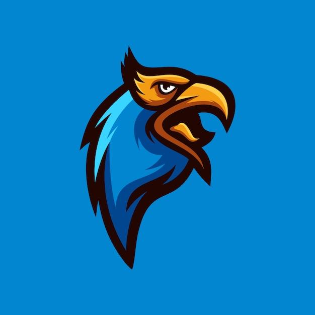 Coleção de logotipo de águia Vetor Premium