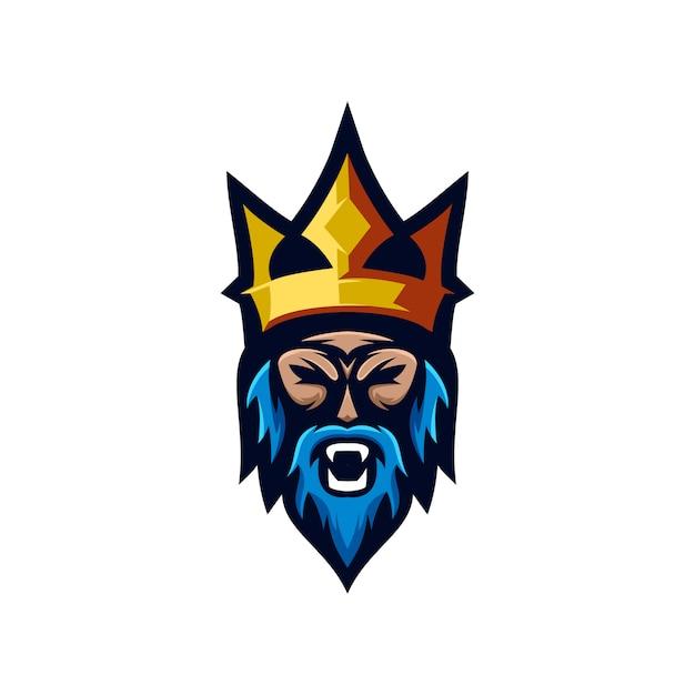 Coleção de logotipo viking Vetor Premium