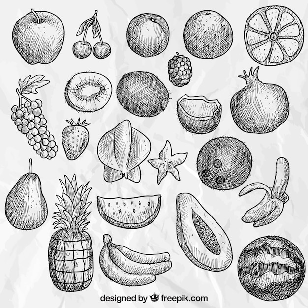 Coleção Desenho Frutas
