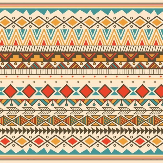 Coleção ornamentos coloridos Vetor grátis