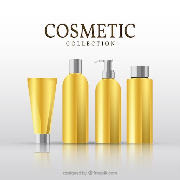 coleção produto cosmético Vetor grátis