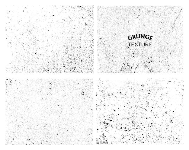 Coleção texturas grunge Vetor grátis