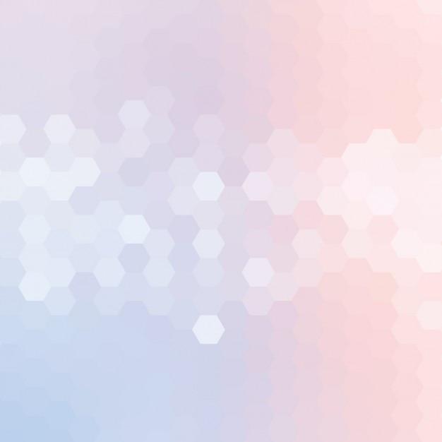 Colorido fundo poligonal Vetor grátis
