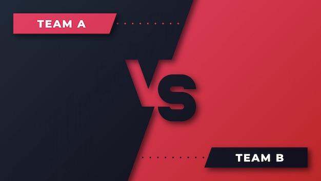 Competição esportiva vermelha e preta contra o fundo Vetor Premium