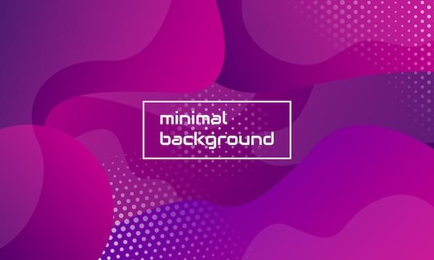 Composição abstrata da forma do minimalism Vetor Premium