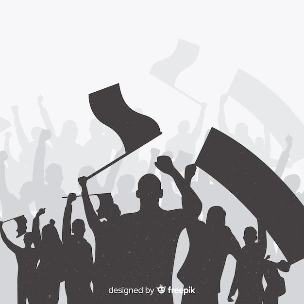 Composição clássica revolução Vetor grátis