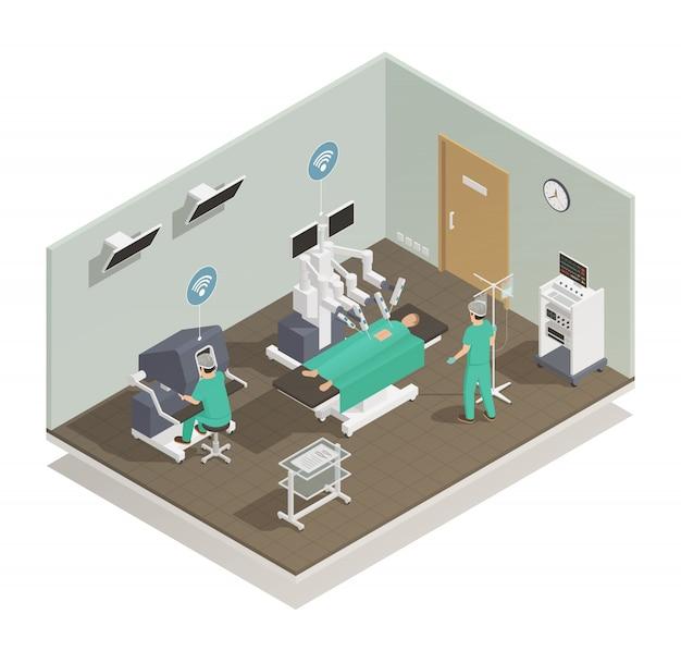 Composição futura da tecnologia da medicina Vetor grátis