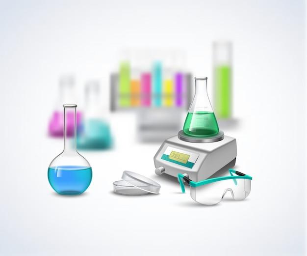 Composição química do equilíbrio Vetor grátis