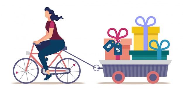 Compra de férias e campanha de desconto de preços Vetor Premium