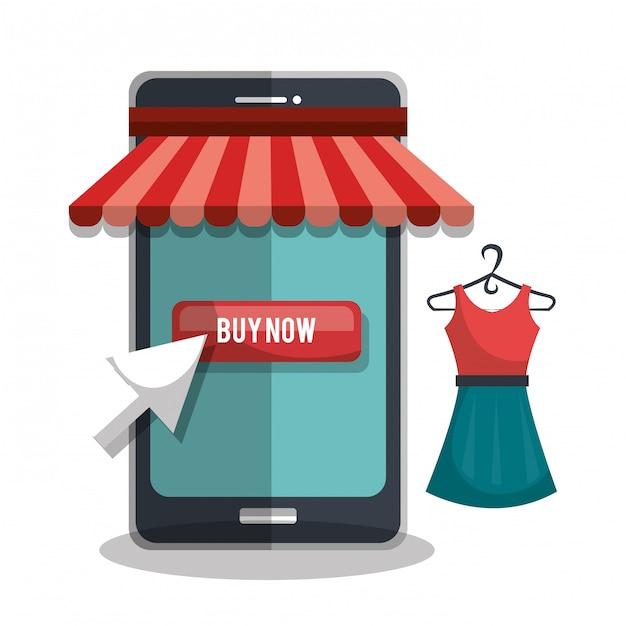 Comprar online Vetor grátis