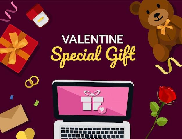 Compras online Vetor Premium