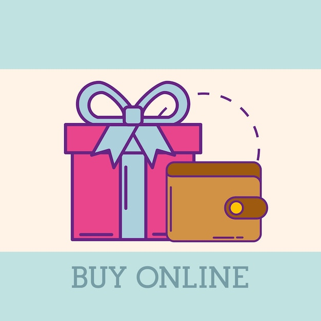 Compre o conceito online Vetor Premium