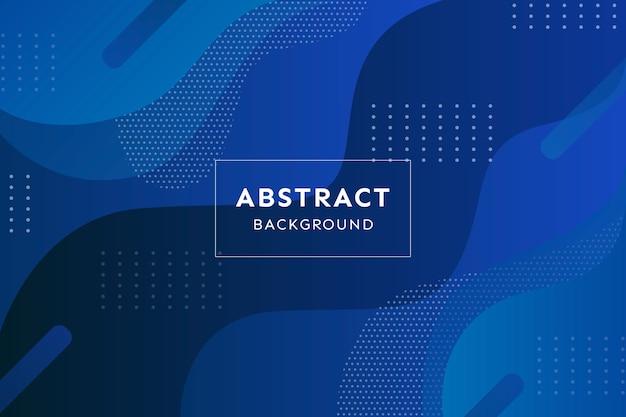 Conceito abstrato clássico azul Vetor grátis