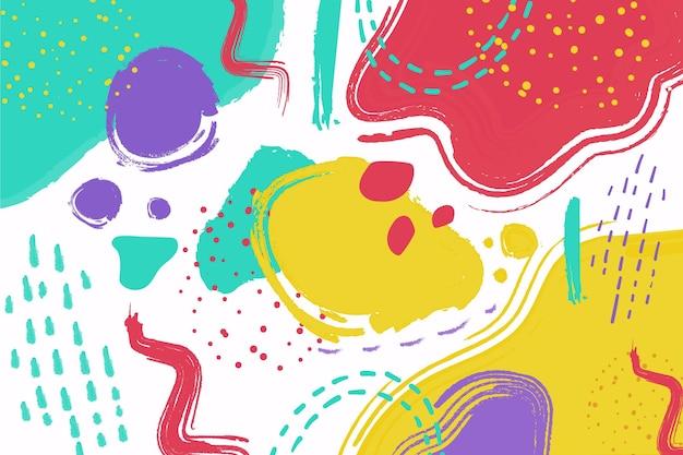Conceito abstrato pastel Vetor grátis