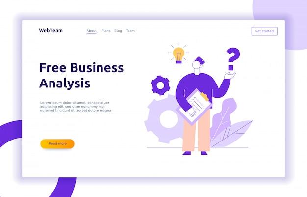 Conceito de design de trabalho em equipe e ideia de negócio Vetor Premium